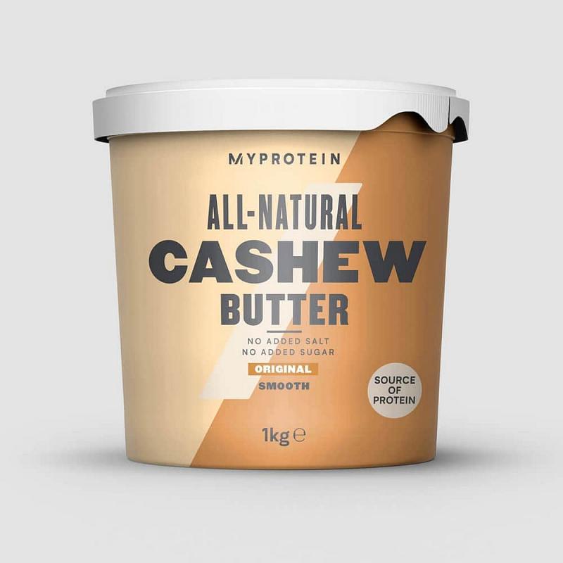 MyProtein Kešu máslo Příchutě: Natural, Forma: Crunchy - kousky ořechů, Hmotnost: 1000g