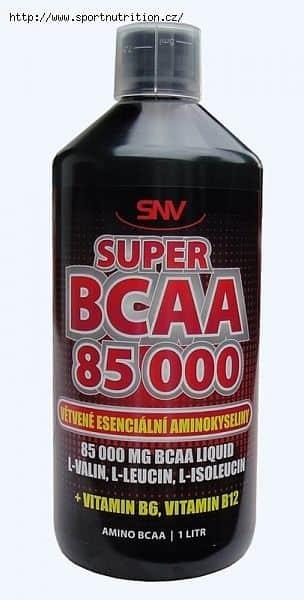 Super BCAA 85 000 liquid 1l Pomeranč