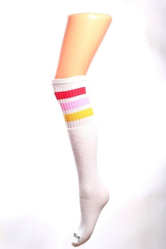 Cool socks cute 9 ponožky s proužky