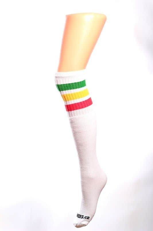 Cool socks cute 1 ponožky s proužky