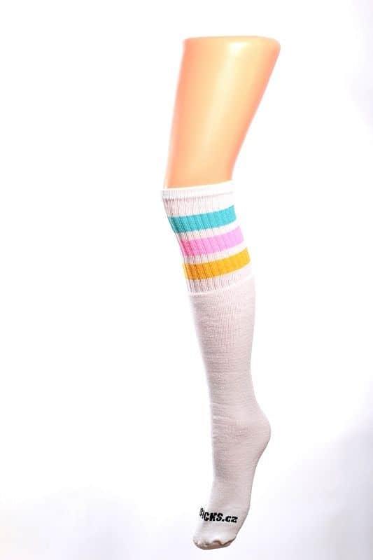 Cool socks cute 8 ponožky s proužky
