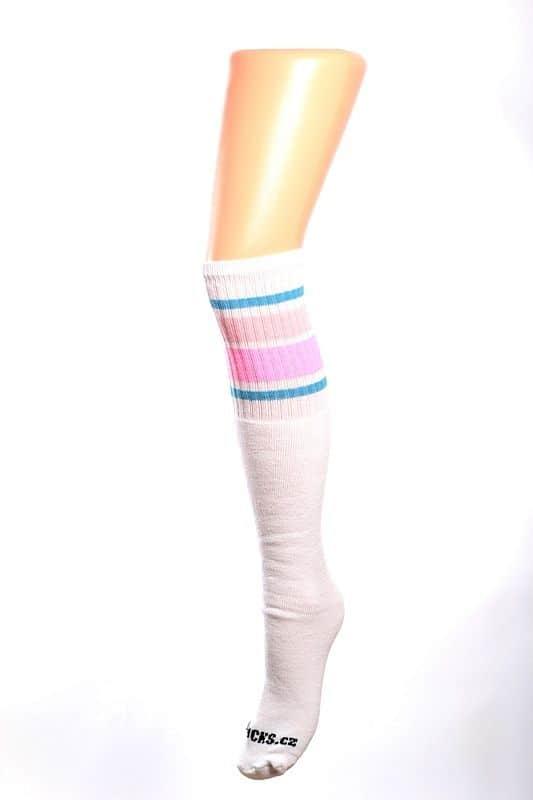Cool socks unique 1 ponožky s proužky