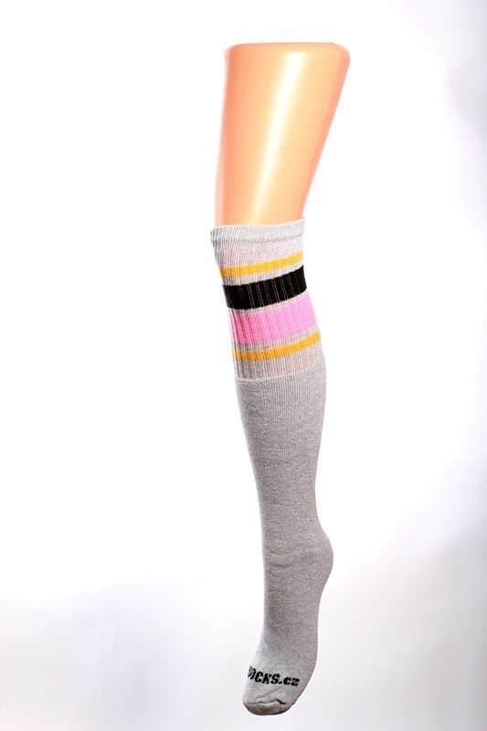 Cool socks unique 3 ponožky s proužky