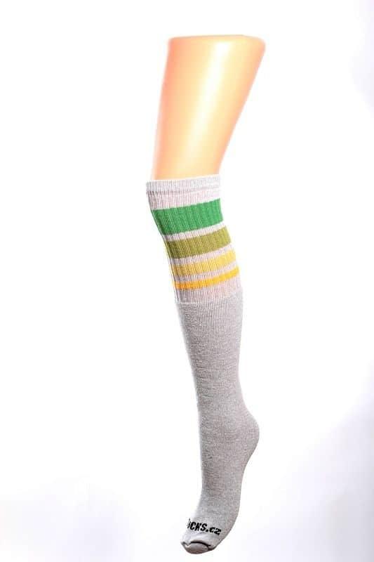 Cool socks unique 5 ponožky s proužky