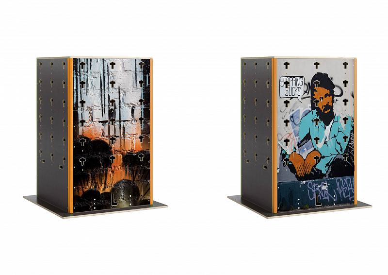 Levně Parkour Cube bedna malá - rozměry 1x1x1,6m - montáž zdarma, servis u zákazníka