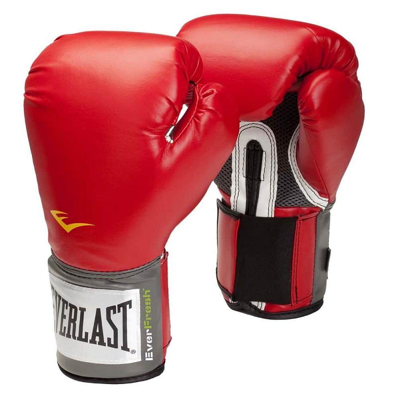 Boxerské rukavice Everlast Pro Style 2100 Training Gloves Barva červená, Velikost S (10oz)