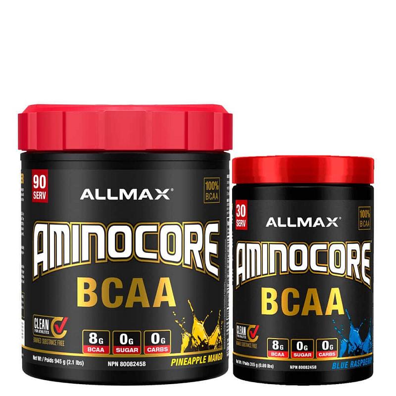 Allmax Aminocore Příchutě: Ananas s Mangem, Hmotnost: 462g