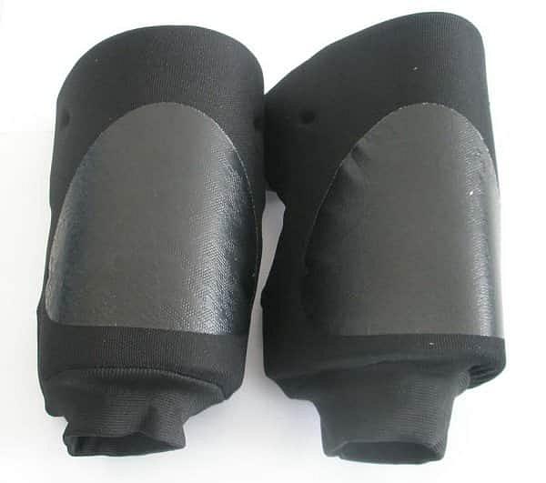 Chrániče kolen EFFEA-7702 sr AKCE - černá - SR