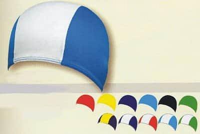 Koupací čepice POLYAMID SR 1901 černá - sv. modrá