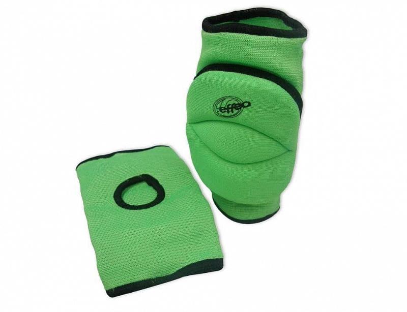 Chrániče kolen EFFEA 6644 SENIOR modré - Světle zelená