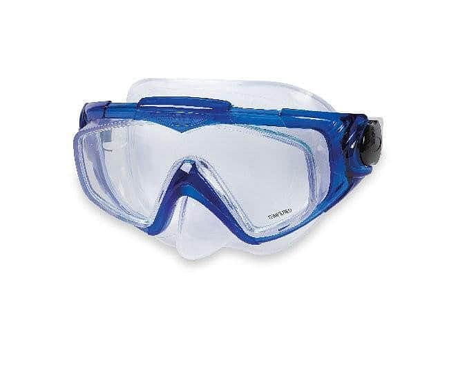 Potápěčská maska Intex 55981 AQUA PRO SILICON černá - modrá