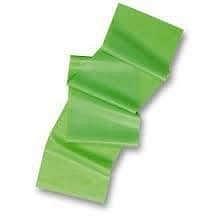 Levně Aerobic guma W1443 1200 x 150 x 0,35 mm - Zelená