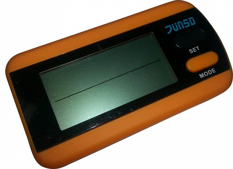 Krokoměr Junso 3D JS-218 - oranžová