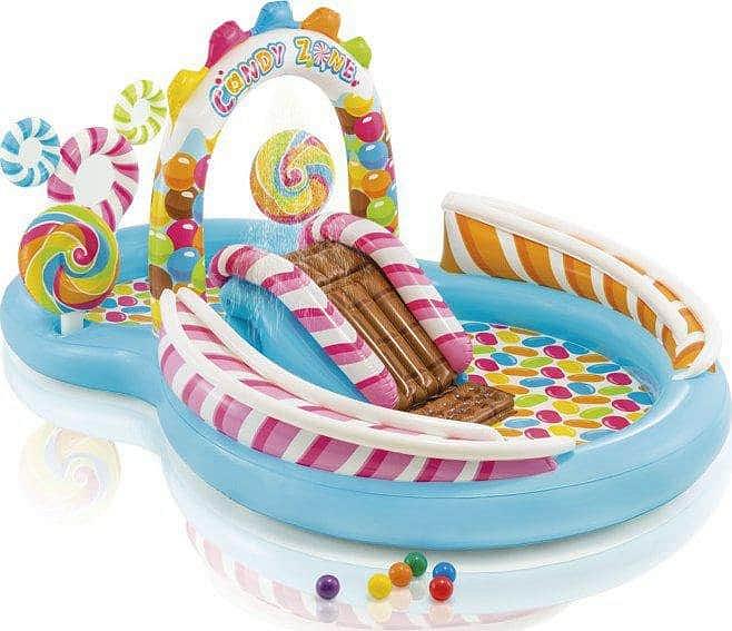 Hrací centrum Candy Zone Intex 57149 295x191x130 cm