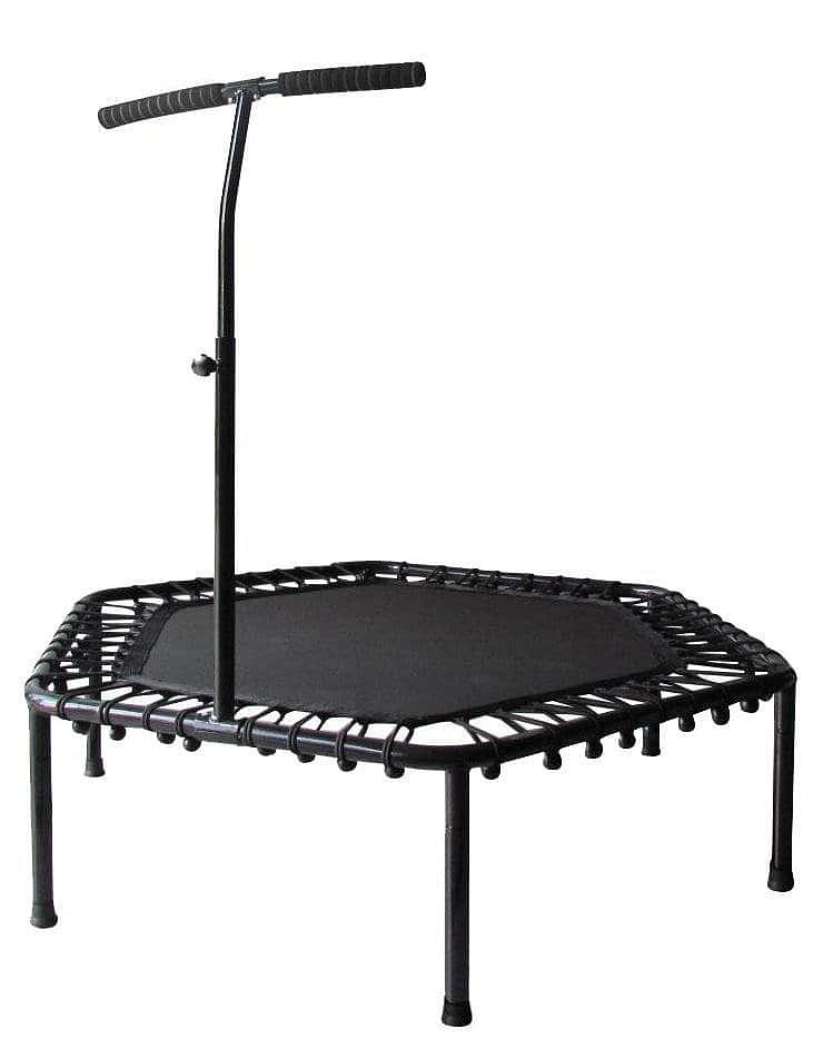 Trampolína SEDCO fitness s madlem HEXAGON 122 cm
