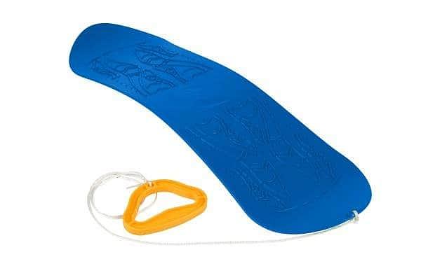 Kluzka - dětský Snowboard/Skyboard - Žlutá