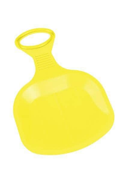 Klouzák BINGO Plastkon 43x35,5x0,4 cm - Žlutý