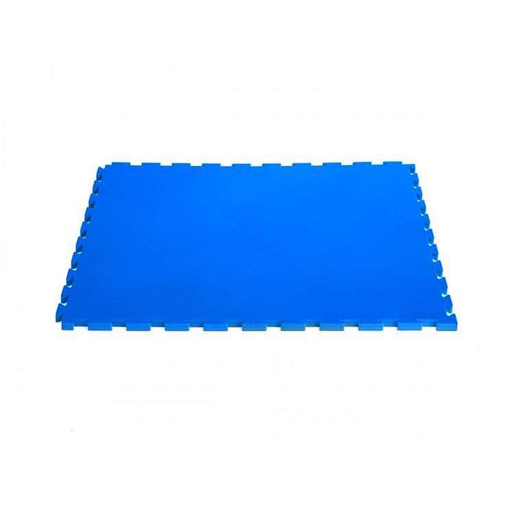 TATAMI-TAEKWONDO PODLOŽKA COLOR 100x100x2cm LOCK 45 - Modrá