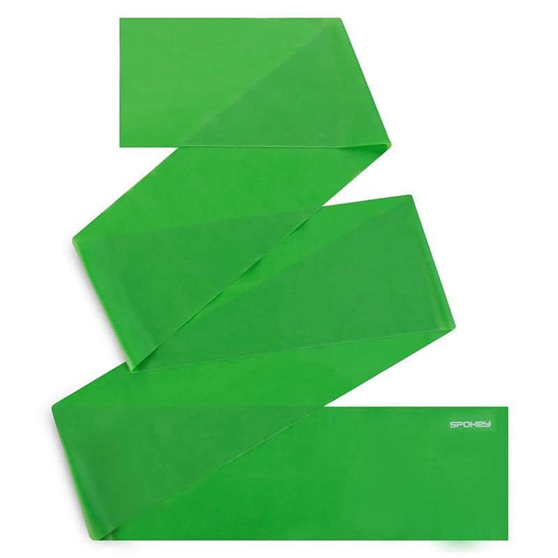Spokey RIBBON II fitness guma zelená medium