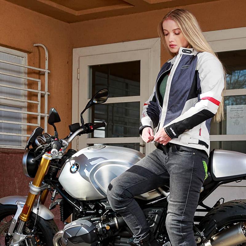 Dámská moto bunda W-TEC Lucina