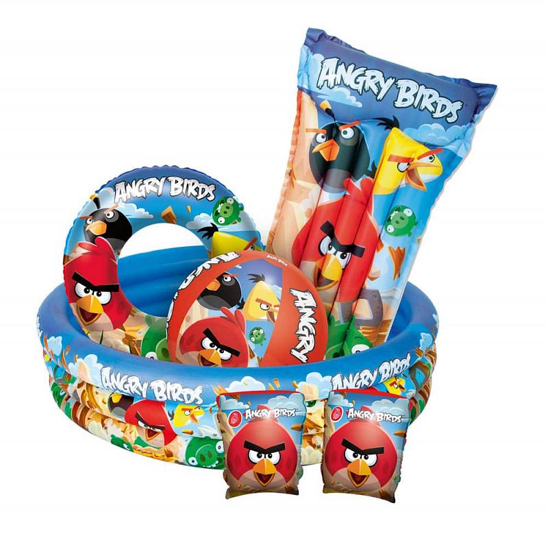 Dětský bazén ANGRY BIRDS 152 x 30 cm