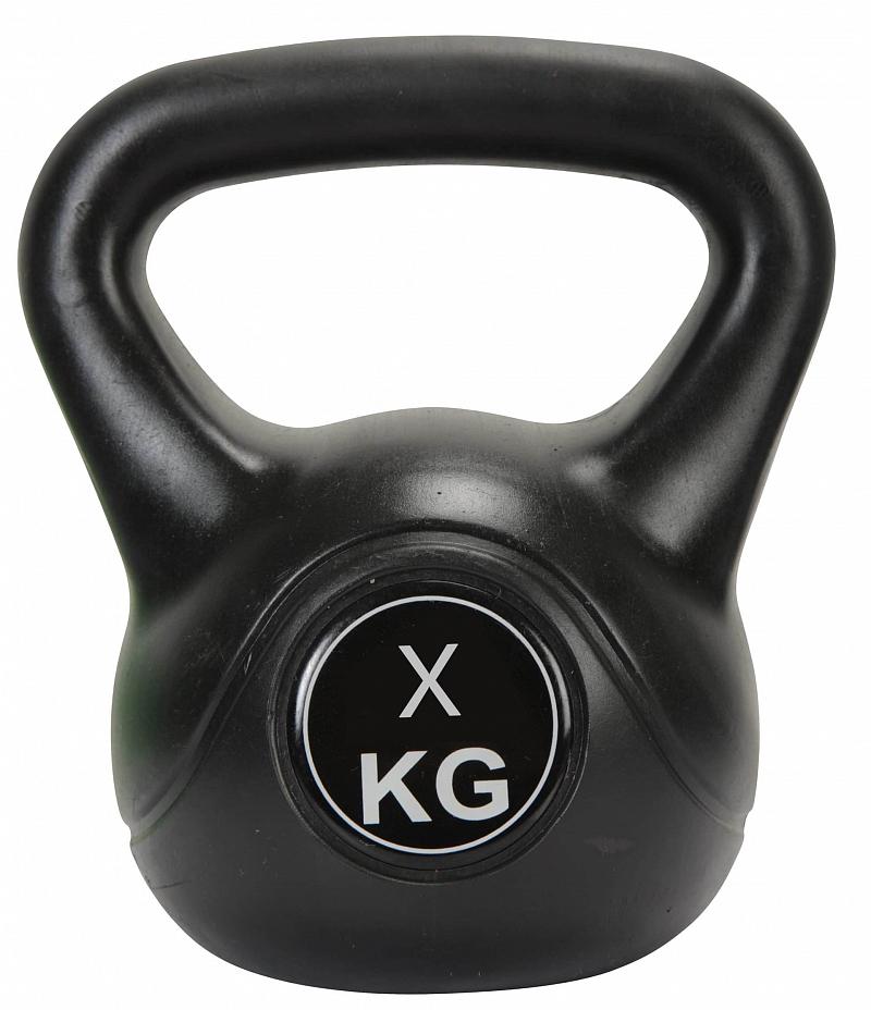 Činka kettlebell Exercise Black - 10 kg