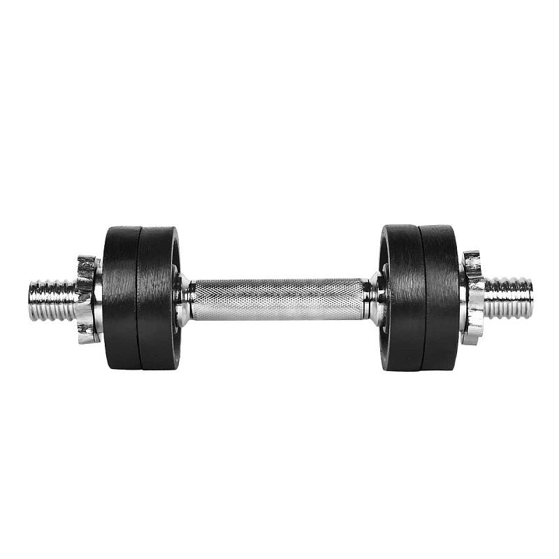 Činka nakládací LIFEFIT jednoruční 6 kg, 30mm tyč/4x kotouč