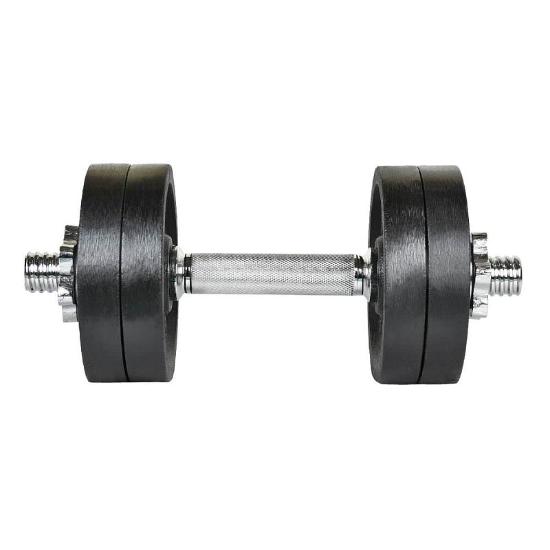 Činka nakládací LIFEFIT jednoruční 12 kg, 30mm tyč/4x kotouč
