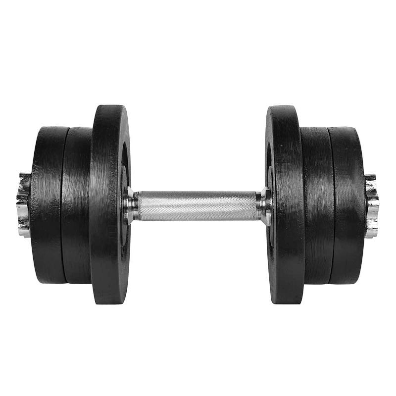 Lifefit Činka nakládací jednoruční 22 kg