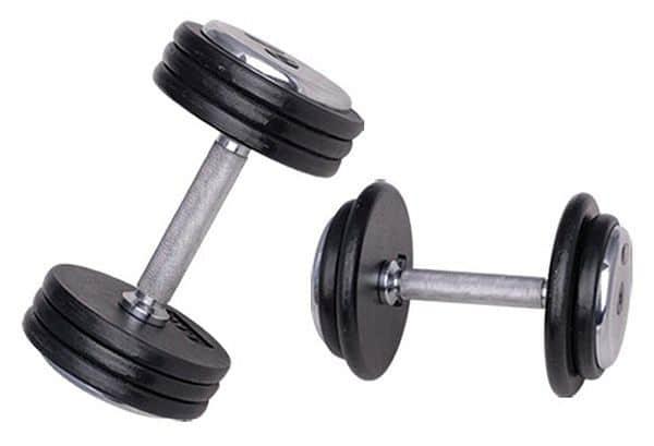 Jednoruční činka inSPORTline 5 kg