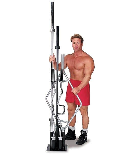 Stojan na olympijské tyče OBH5 Body-Solid - SK