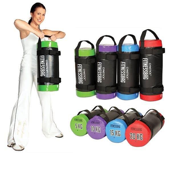 Gymstick Fitness Bag 5 kg zelený + DVD