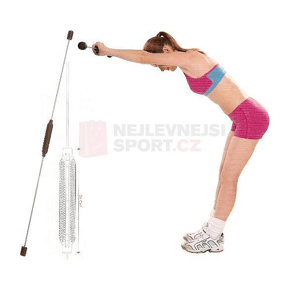 Aerobic tyč Swing Flexal Bar