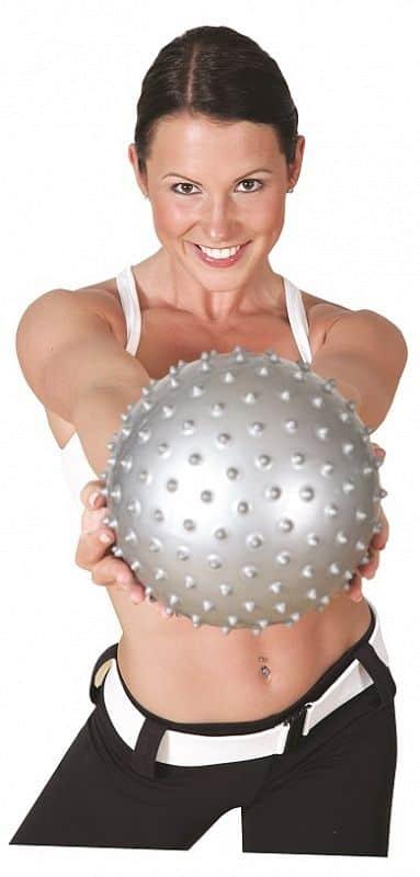 Gymstick míč na pilates 20 cm + DVD
