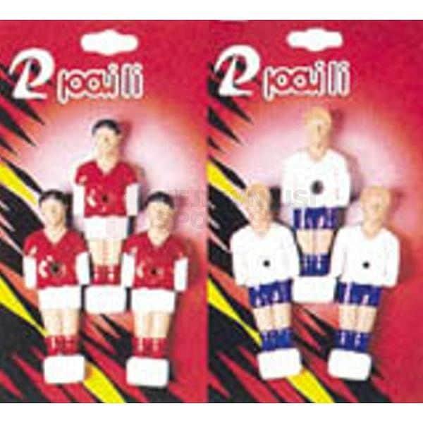 Náhradní hráči na stolní fotbal - 3 kusy