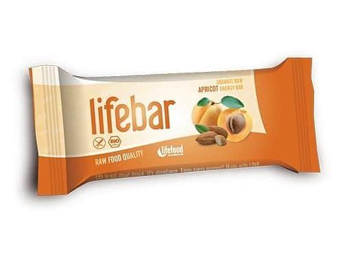 Lifebar BIO meruňková 47g