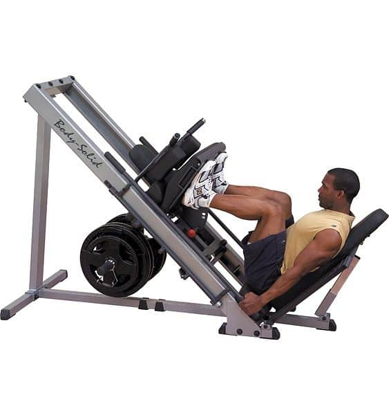 GLPH1100 Body-Solid Leg press and Hack squat