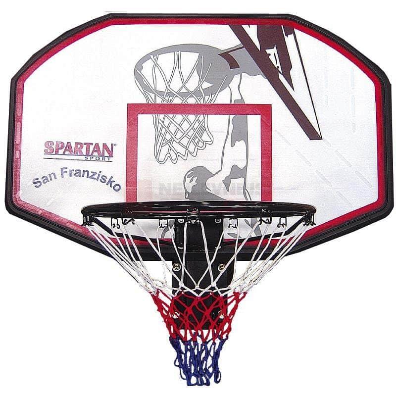 SPARTAN Basketbalová deska + koš San Francisco