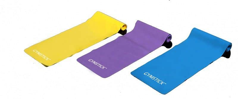 GYMSTICK Exercise bands set + DVD