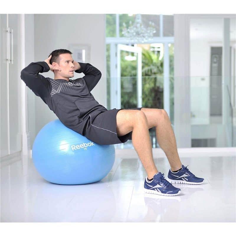 REEBOK Gymnastický míč - 75 CM + DVD ZDARMA