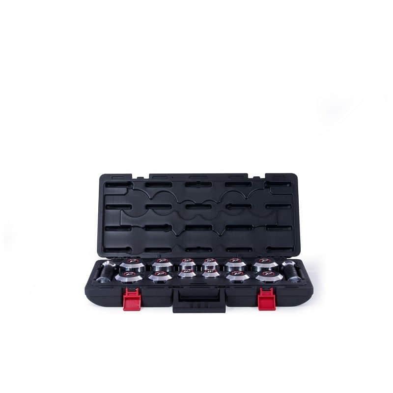 Jednoruční nakládací činkový set Adidas 2,5-14 kg