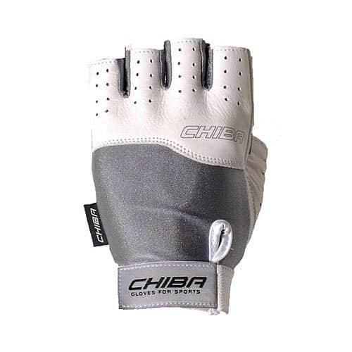 Rukavice CHIBA 40400 šedo-bílé