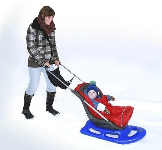 Snow Baby Fun