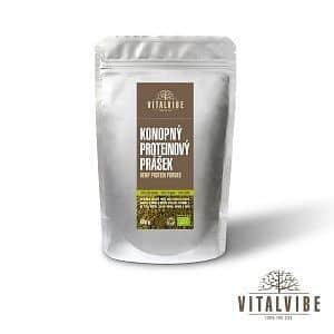 Konopný protein BIO - prášek - 500 gramů
