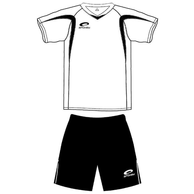 SHANK Fotbalový dres černo-bílý
