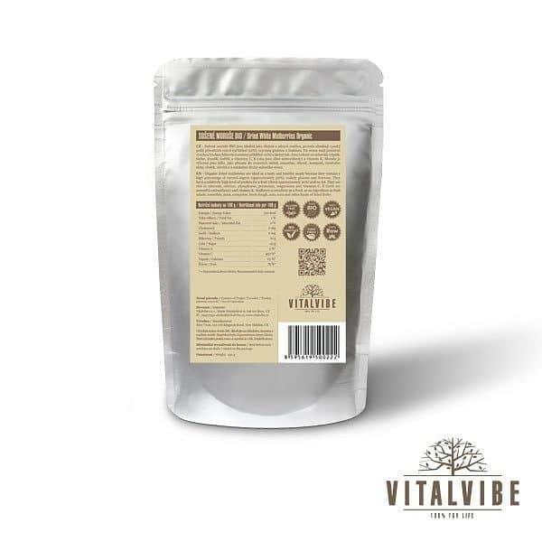 Sušené moruše BIO - 250 gramov