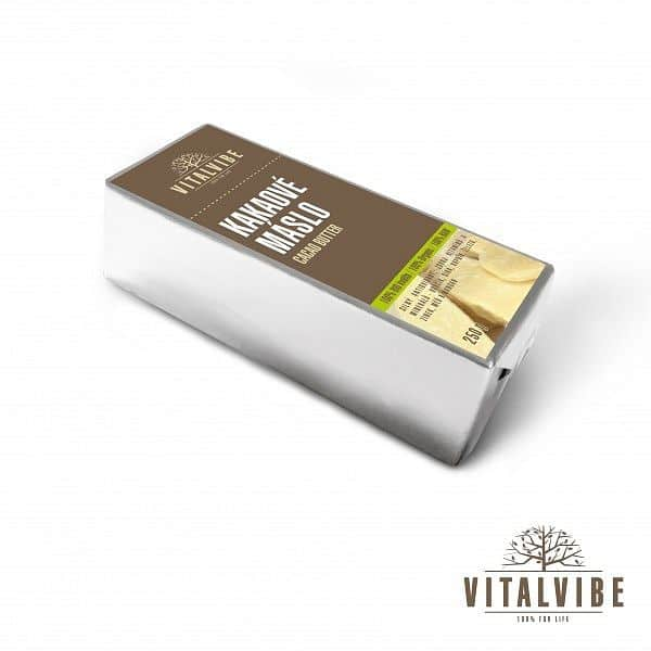Kakaové máslo BIO - 250 gramů