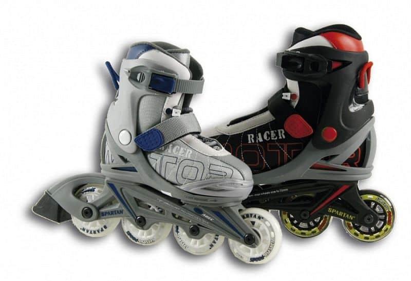 SPARTAN Kolieskové korčule Soft Racer