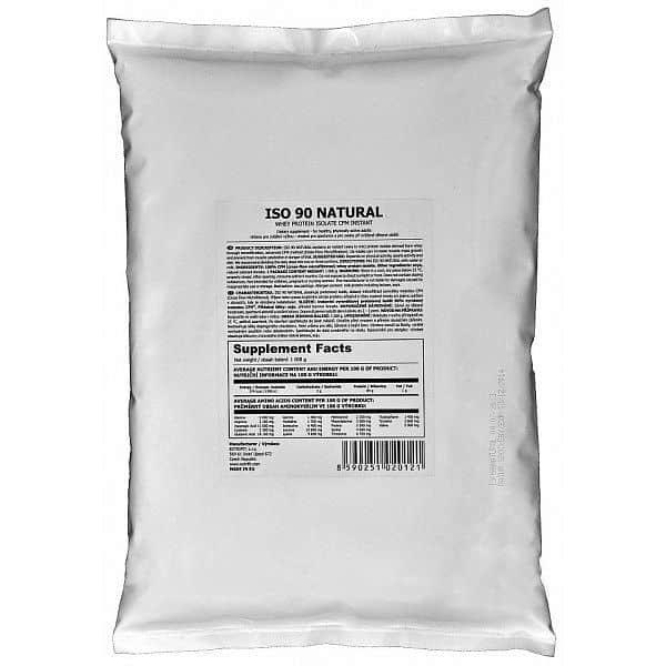 Iso 90 Natural - syrovátkový izolát 1000g