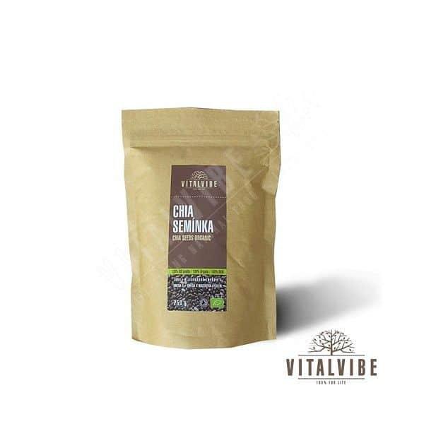 Chia semienka BIO - 250 gramov
